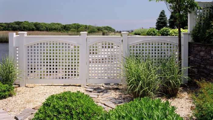 Custom Lattice Walk Gate and Sections